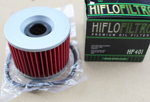 Oil Filter Honda CB Four models + BoldOr + Goldwing