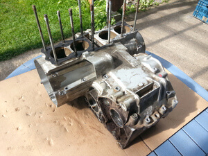 Crankcase Engine Block Honda CB350Four used