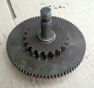 Intermediate gear starter Honda CB350Four