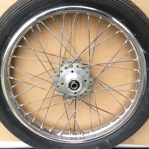 Front Wheel complete Honda CB350Four CB400F used