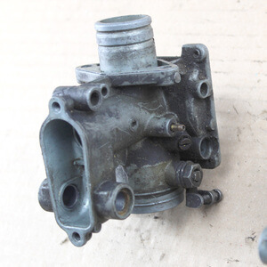 Carburetor Housing Cyl-2 Honda CB350Four CB400F used
