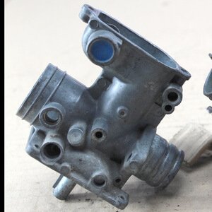 Carburetor Housing Cyl-3 Honda CB350Four CB400F used