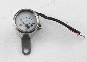 Voltmeter with analog display new