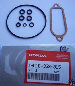 Carburetor Gasket Kit Honda CB350F CB400F new