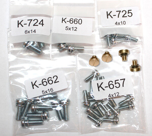 Screw Set Carburetor Honda CB500F CB550F new