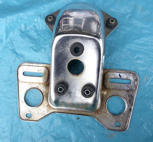 Tail Light Holder Honda CB650C CB750C used