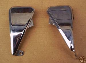Chrome Covers intake silencer CB650C RC05 used