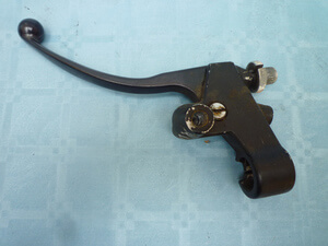 Clutch lever and adjusting screw Honda CB650C RC05