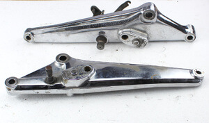 Holder Rearstep Set chromed Honda CB750KZ used