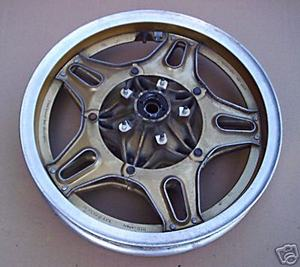 Rear Wheel gold Honda CB750F-900F BoldOr used