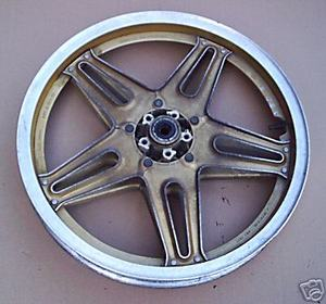 Front Wheel Honda CB750-900F BoldOr gold used