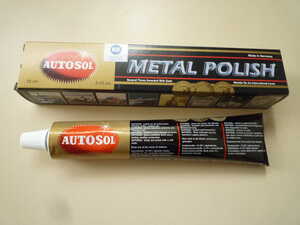 AUTOSOL Metal Chrome Polish Tube 75 ml