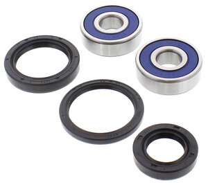 Wheel Bearing Set Front complete Honda CB-CL200 CB360 CB450K CB650 CB750F2 CB750KZ+F+C CB900F CB1100R GL500-1000-1100 new