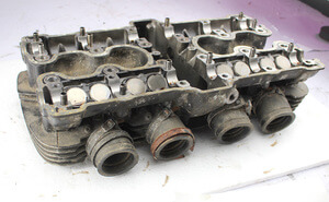 Cylinder Head Honda CB900F Boldor used complete with valves