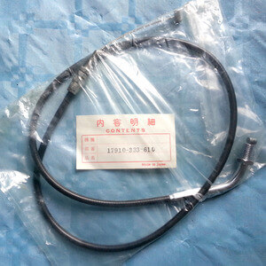 Throttle Cable close HONDA CB350F new