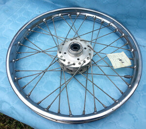 Front spoked wheel Honda CB350Four CB400F used