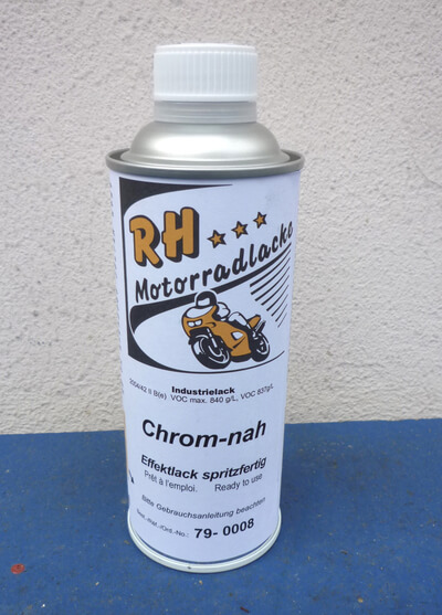 Chrom-nah chrome paint Honda 375ml