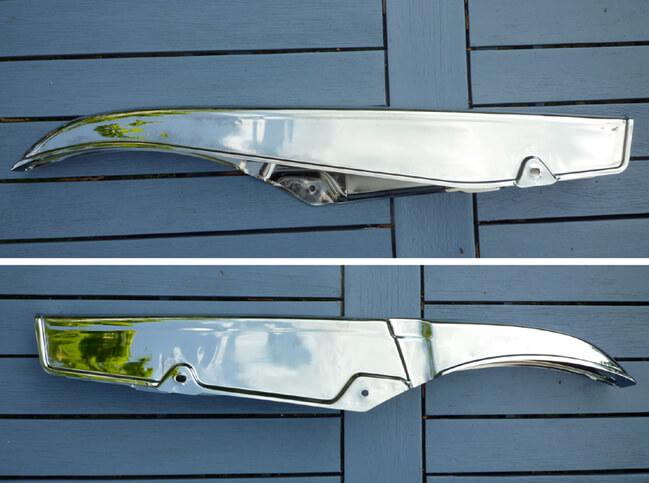 CB-Four com 40510-341-010XW CHAIN GUARD chrome CB750Four K2